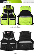 www.mensswaggerapparel.com Quick shipping low prices Biker Apparel & Accessories High Visibility Reflective Safety Moto Off-road Vest Motocross Racing Jacket