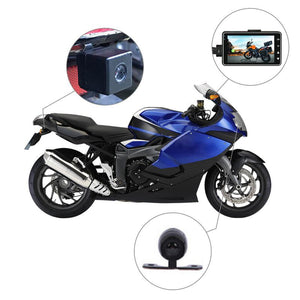 www.mensswaggerapparel.com Quick shipping low prices men's Gifts & Gadgets KY-MT18 Motorcycle Camera DVR Motor Dash Cam With Special Dual-track Front Rear Recorder Motorbike Electronics Black Box