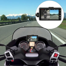 MSA Signature KY-MT18 Motorcycle Camera DVR Motor Dash Cam With Special Dual-track Front Rear Recorder Motorbike Electronics Black Box