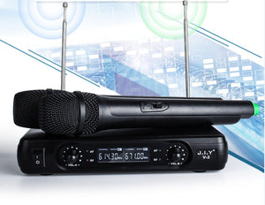 www.mensswaggerapparel.com Quick shipping low prices men's Gifts & Gadgets Handheld Wireless Karaoke Microphone Karaoke player Home Karaoke Echo Mixer System Digital Sound Audio Mixer Singing Machine V2+