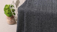www.mensswaggerapparel.com Quick shipping low prices men's suits & suit jackets Vintage Herringbone Tweed Vest  Made Groom Wear Dark Gray for Rustic Wedding Plus Size