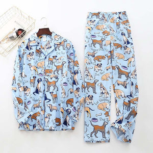 www.mensswaggerapparel.com Quick shipping low prices men's Gifts & Gadgets white bear 100% brushed cotton men pajama sets Autumn Casual fashion animal sleepwear