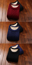www.mensswaggerapparel.com Quick shipping low prices Men's Sweaters Plus Velvet Keep Warm Slim Thick Male Pullover Sweater