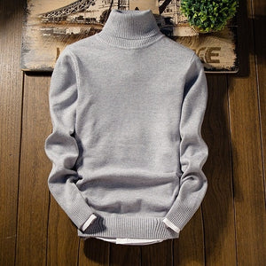 www.mensswaggerapparel.com Quick shipping low prices Men's Cashmere Sweater BY Magic Man  Christmas Sweater Long Sleeve Slim Fit Turtleneck Pullover Men