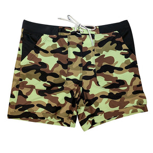 MSA SignatureTaddlee Brand Sexy Men's Swimwear Swimsuits Men Long Swimming Boxer Trunks Bikini Camo Beach Board Shorts Pockets Bathing Suits