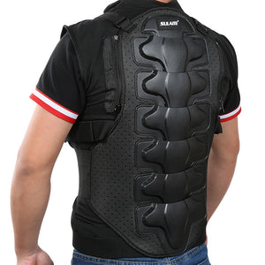 www.mensswaggerapparel.com Quick shipping low prices Biker Apparel & Accessories Motorcycle Armor Jacket Men Sleeveless Armor Vest Outdoor Motorcross RC Chest Protective Sport Gear Guard Motorcycle Accessories