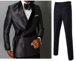 www.mensswaggerapparel.com Quick shipping low price men's vest suit & suit jackets.  latest fashion design double-breasted blazer men's groom wedding dress custom 3 pieces (jacket + pants + belt)