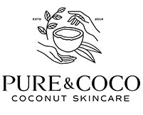 pure and coco, coconut, vegan, skincare, coconut moisturizer, shop small, holiday gift guide