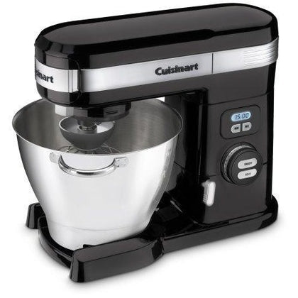 Cuisinart SM-55BK 5-1/2-Quart 12-Speed Stand Mixer, Black