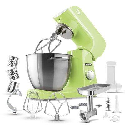 Sencor 4.75 Qt. 8-Speed Stand Mixer Color: Pastel Lime Green