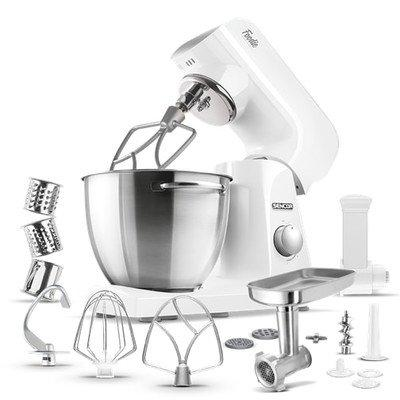Sencor 4.75 Qt. 8-Speed Stand Mixer Color: Pastel White