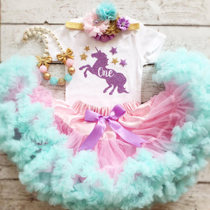 8d6dba8d866d3 Unicorn First Birthday outfit-1st Birthday/Unicorn outfit