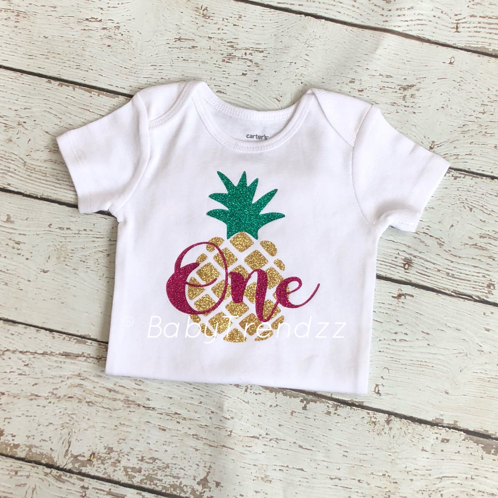 ff8058402106 ... Pineapple 1st Birthday- First Birthday outfit Hawaiian Summer Pineapple  Theme Birthday outfit ...