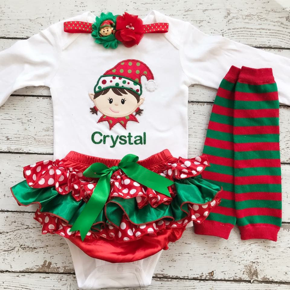 first christmas girl christmas outfitbaby christmas outfit newborn christmas outfit