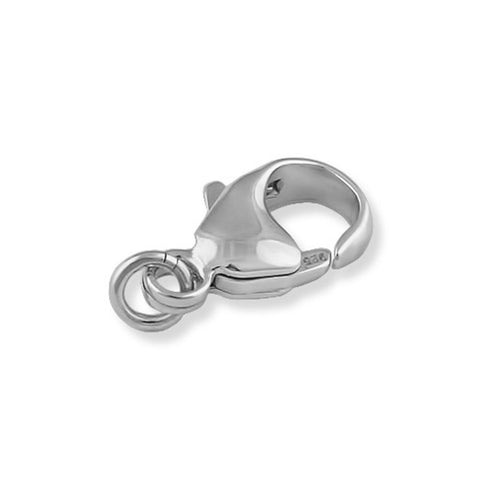 Sterling Silver Small to Large Easy Necklace Clasp Converter