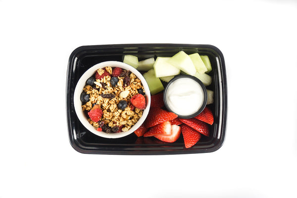 Granola and Mixed Berries
