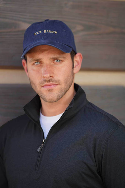 Baseball Cap in Navy - Scott Barber