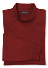 Men's Red Mock Turtleneck - Scott Barber