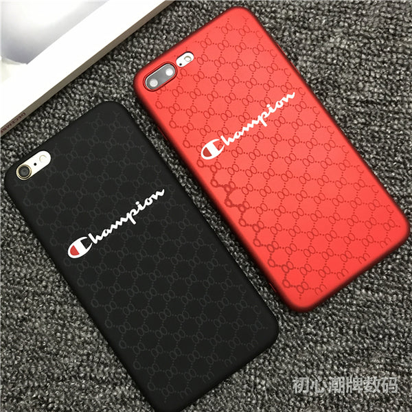 coque iphone xr champion rouge