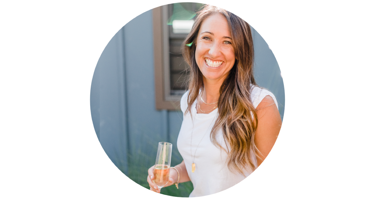 champagne club owner, shiloh caffrey. all about we drink bubbles