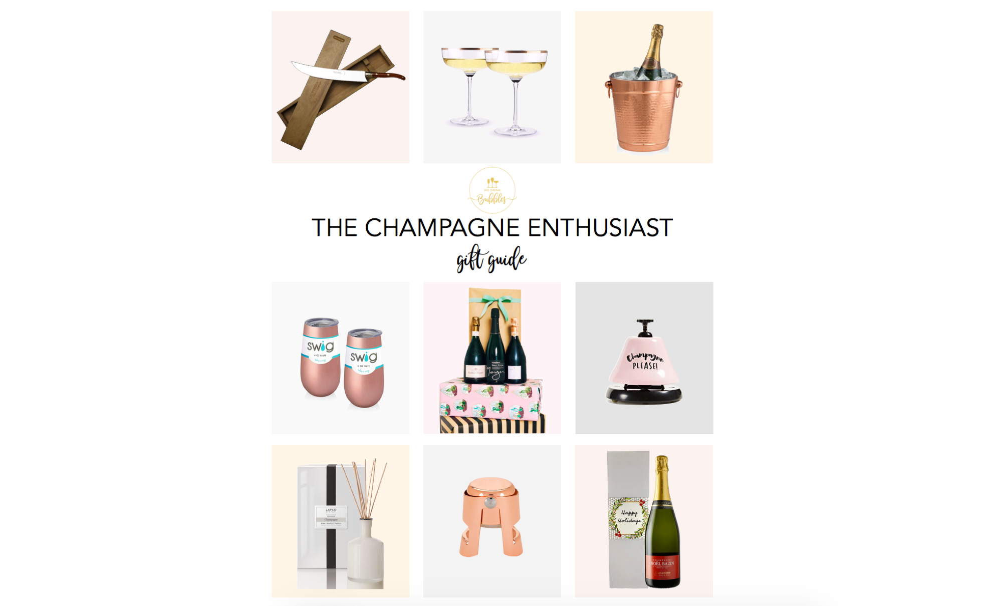 CHAMPAGNE ENTHUSIAST GIFT GUIDE