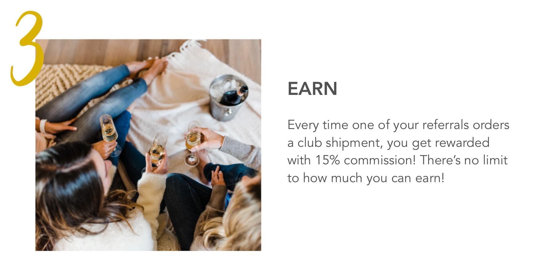 affiliate program champagne club