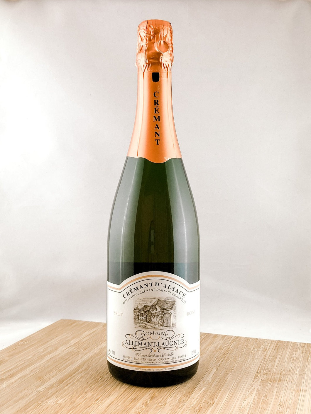 Allimant-Laugner Cremant The Bubbles Club Subscription, our champagne delivery, and great for unique gift ideas.