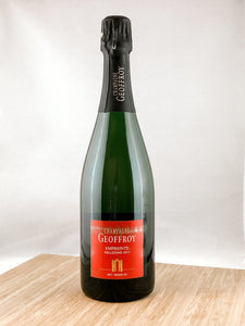 Geoffrey Champagne, part of our champagne delivery and great for unique gift ideas.