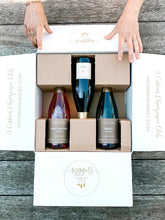 3 bottles of unique champagnes and sparkling wines. Champagne delivery and great for unique gift ideas.