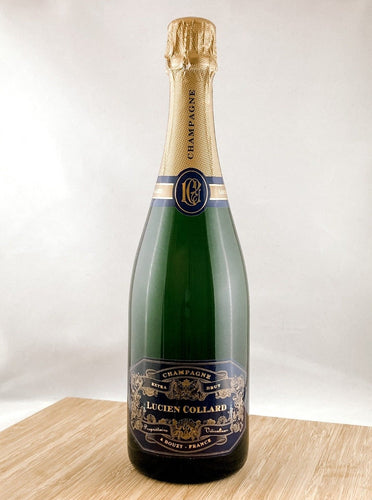 Lucien Collard, part of our champagne delivery and great for unique gift ideas.