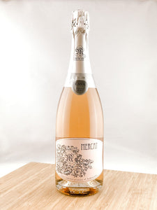 mercat cava brut rose, part of our monthly champagne club, wine delivery, unique gift ideas, send bubbles gifts