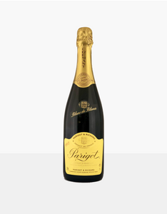 Parigot & Richard Crémant, part of our champagne delivery and great for unique gift ideas.