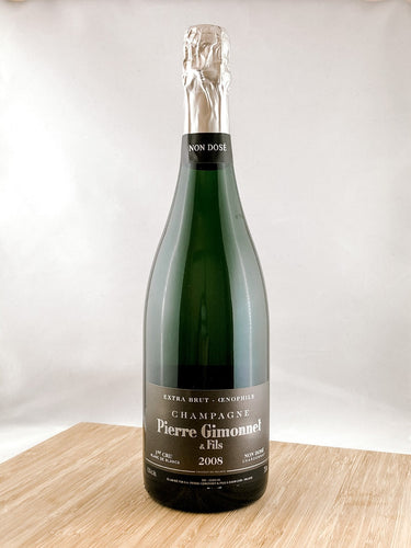 Pierre Gimonnet Champagne 2008, part of our champagne delivery and great for unique gift ideas.