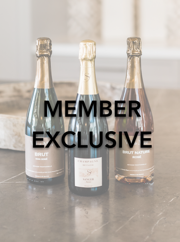 Member Exclusive: 3 bottles of unique champagnes and sparkling wines. Champagne delivery and great for unique gift ideas.