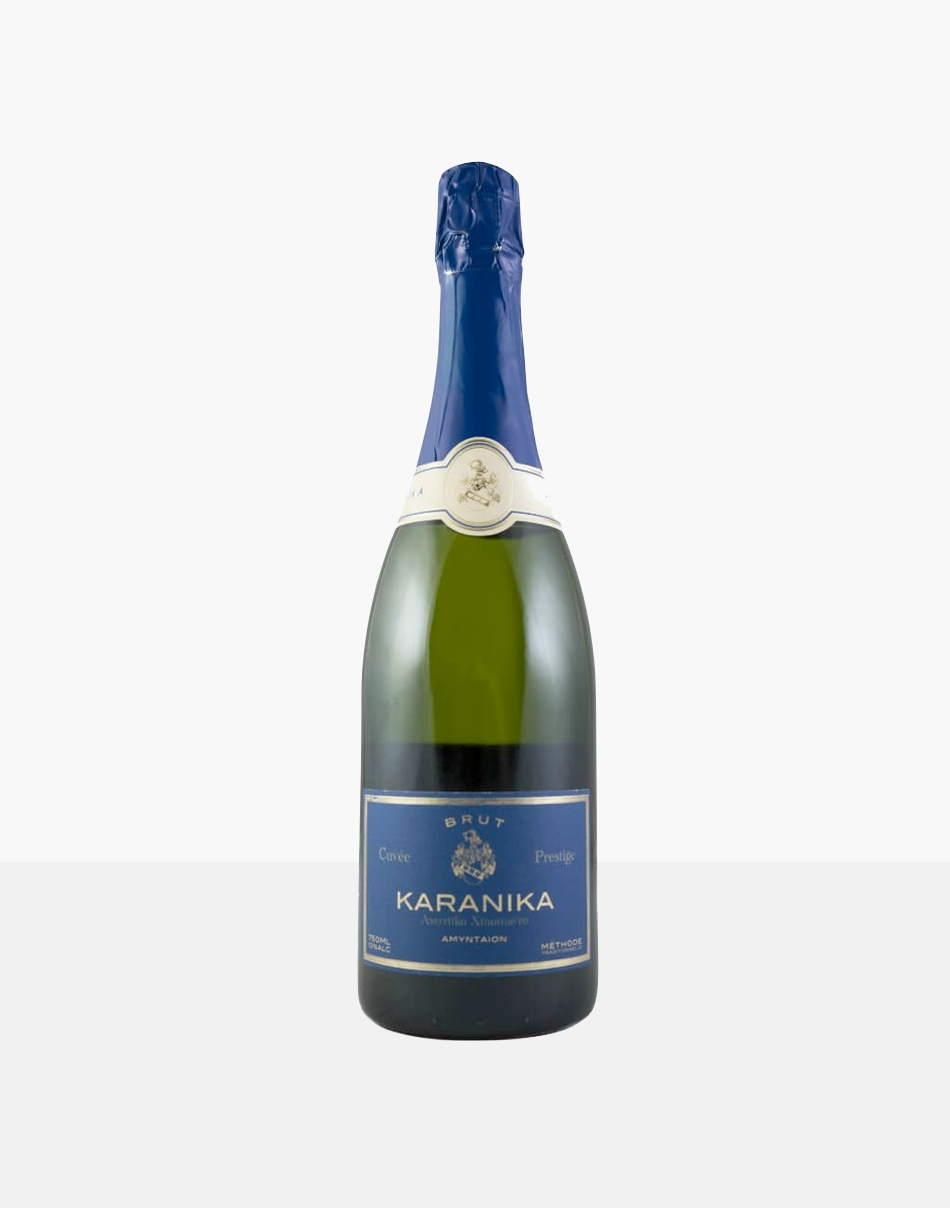 Karanika Brut, part of our champagne delivery and great for unique gift ideas.