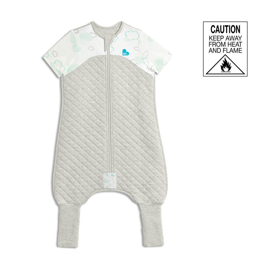 Love To Dream Sleep Suit 1 TOG - Size 1 - White Clouds
