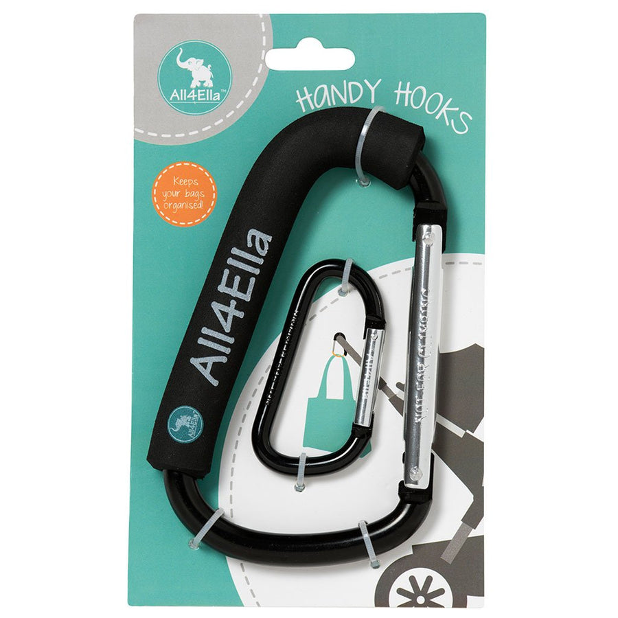 All4Ella Handy Hooks - Black