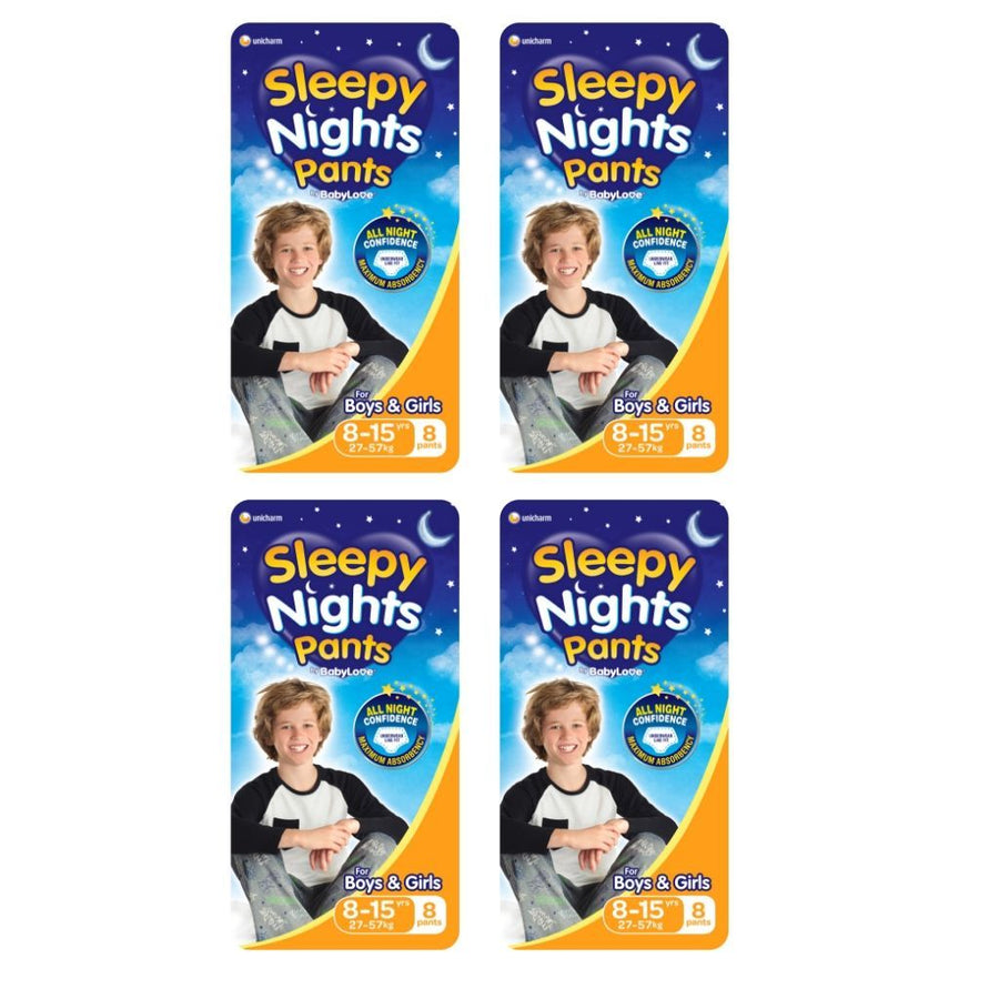 Babylove Sleepy Nights 8-15 Years- BULK 4x8