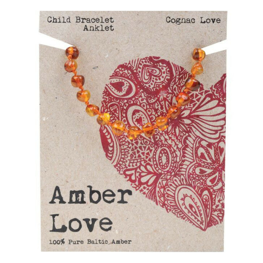 Amber Love Baltic Amber Teething Anklet/Bracelet