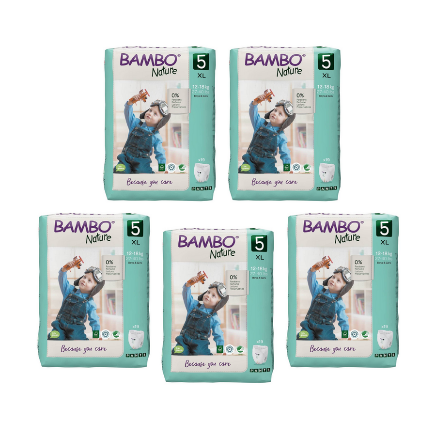 Bambo Nature Nappy Pants Size 5 Bulk Buy