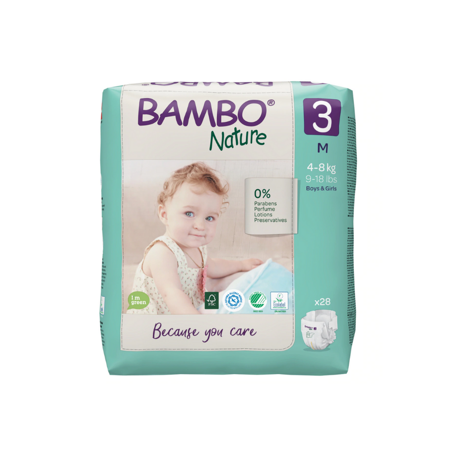 Bambo Nature Nappies Size 3 - 28 Pack