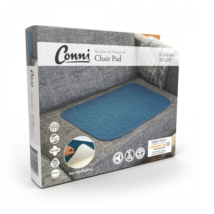 Conni Chair Pad - Teal Blue