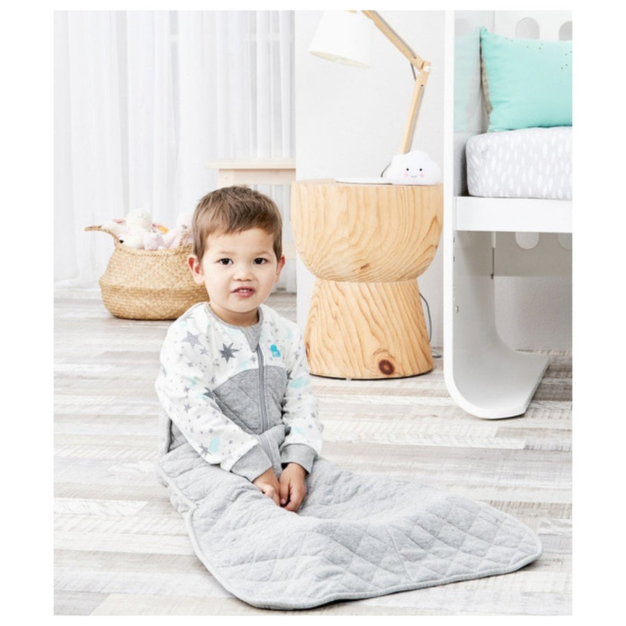 Love To Dream Sleep Bag 2.5 TOG - 6-18M - White Moon & Stars