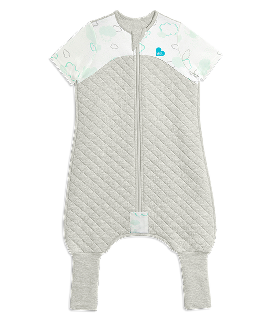 Love To Dream Sleep Suit 1 TOG - White - Size 1 - 12-24M