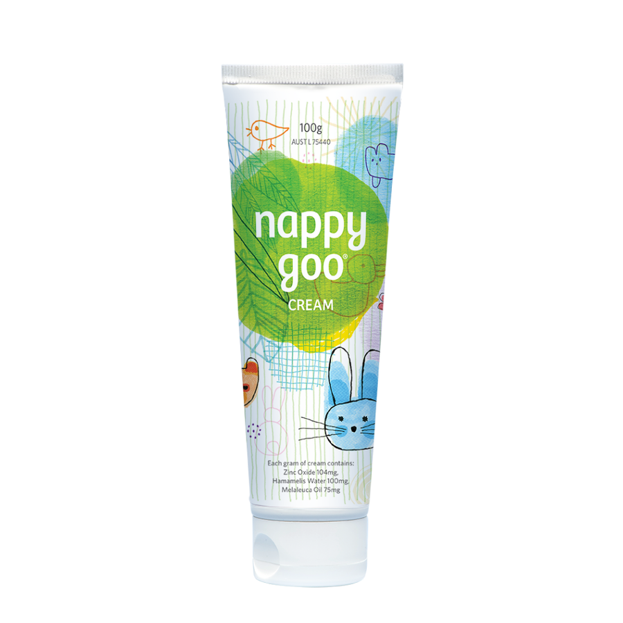 Nappy Goo Nappy Rash Cream - 100g - Supply Shortage ETA End Feb 2021