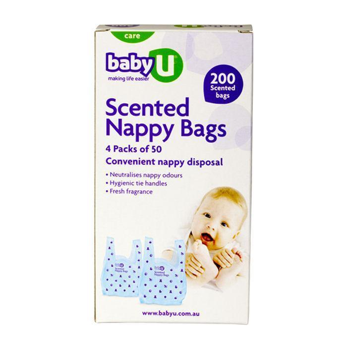 Baby U Scented Nappy Bags 200