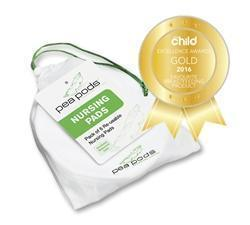 Pea Pods Re-usable Nursing Pads 6pk Award Winner