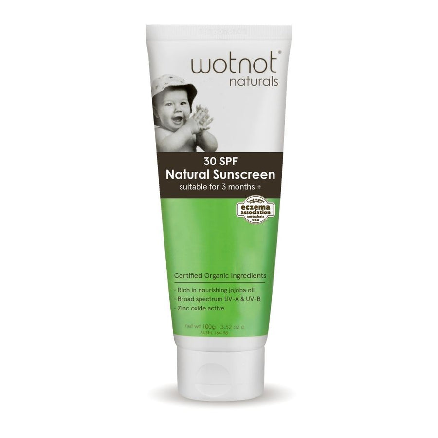 Wotnot Naturals Sunscreen - 100ml