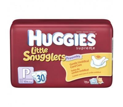 Huggies Premature Nappies up to 3kg 30 Pack