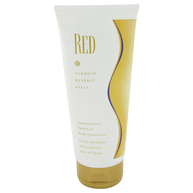 Red Body Moisturizer By Giorgio Beverly Hills